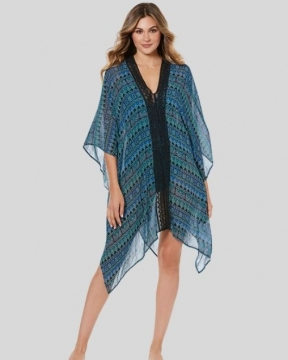Miraclesuit Swim Caftan in Gypsy Teal